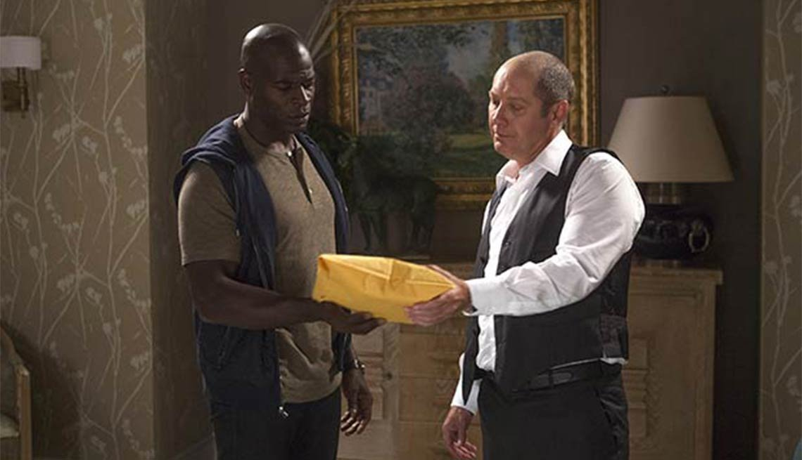 James Spader, Hisham Tawfiq, The Blacklist, Fall 2014 TV for Grownups