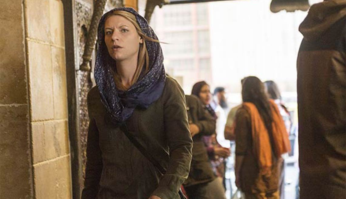 Claire Danes, Homeland, Fall 2014 TV for Grownups