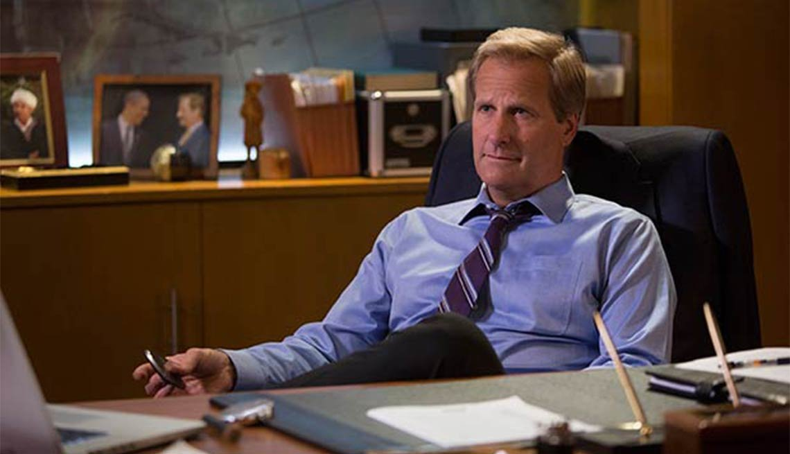 Jeff Daniels, The Newsroom, Fall 2014 TV for Grownups