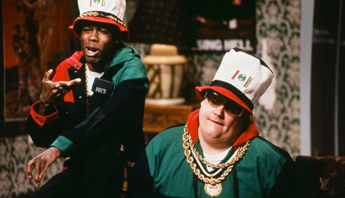 Chris Rock, Chris Farley, Saturday Night Live, SNL 40, comedy television
