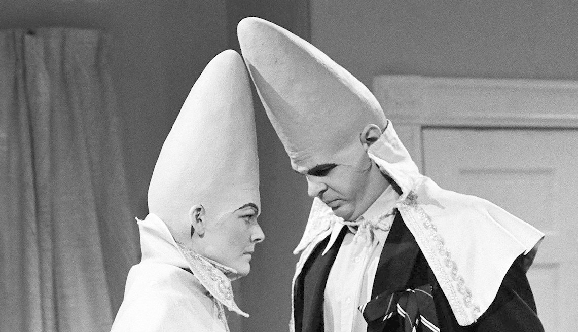 Jane Curtin, Dan Aykroyd, Coneheads, Saturday Night Live, SNL 40, comedy television