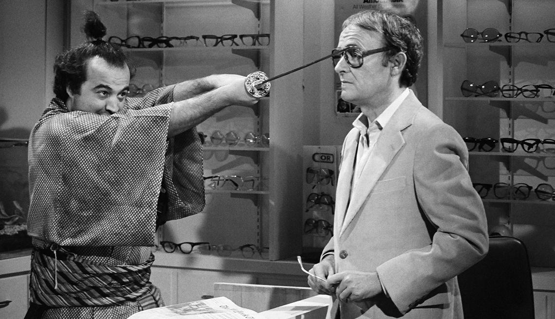 John Belushi, Buck Henry, Saturday Night Live, SNL 40, comedy television