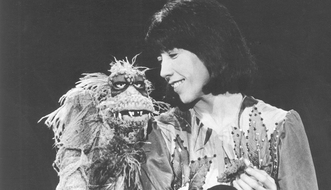 Lily Tomlin, Muppets, Skred, Saturday Night Live, SNL 40, comedy television