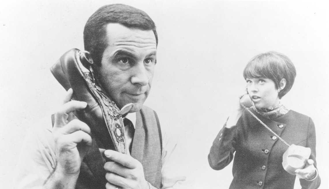Barbara Feldon, Don Adams, Get Smart, Second Bananas