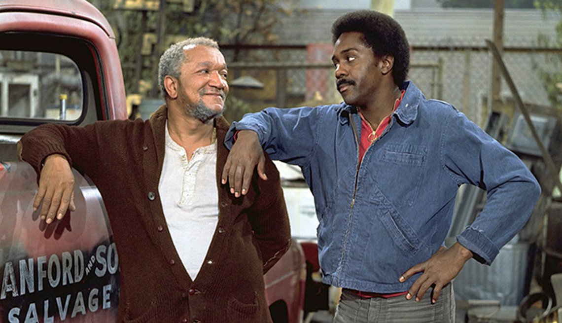 Redd Foxx, Fred G. Sanford, Demond Wilson, Sanford and Son, Second Bananas