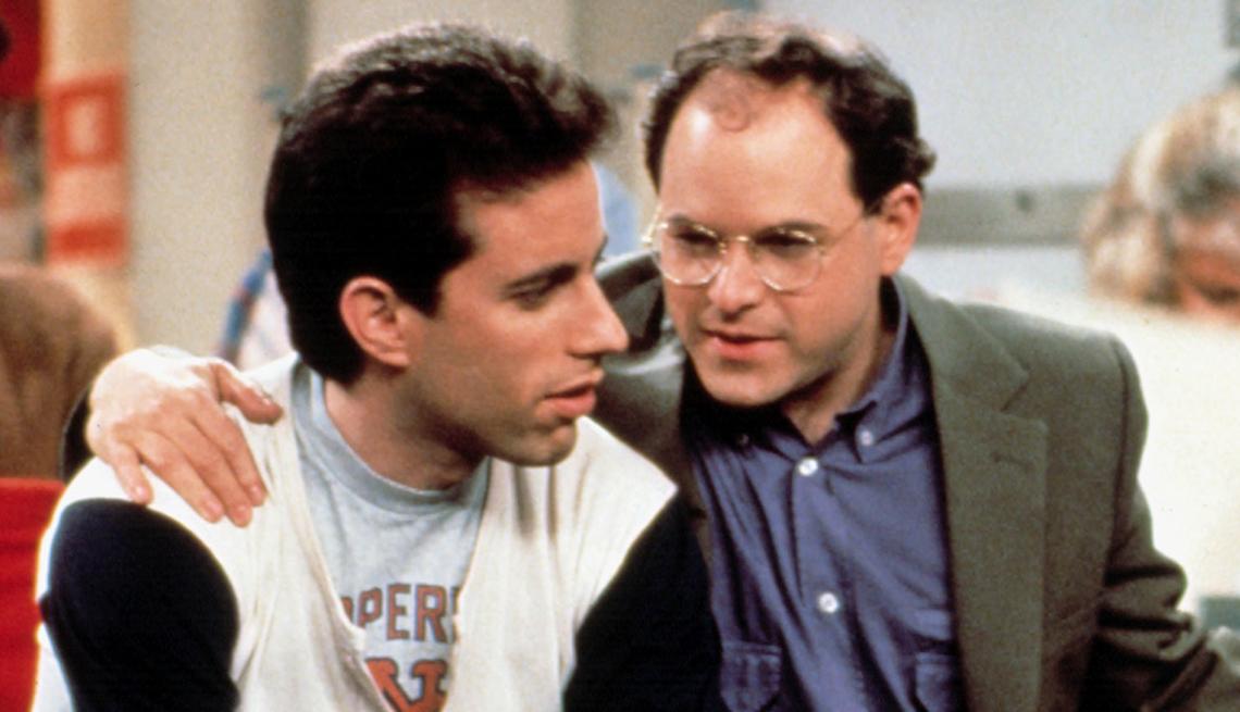 Jerry Seinfeld y George Costanza en una escena de Seinfeld