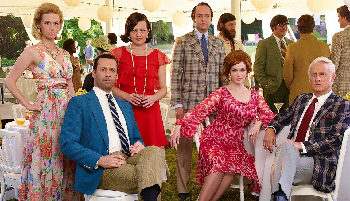 Mad Men  - Programas televisión primavera 2015