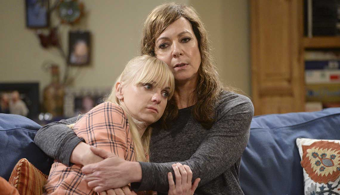 Great Mother-Daugher TV Pairings, Mom