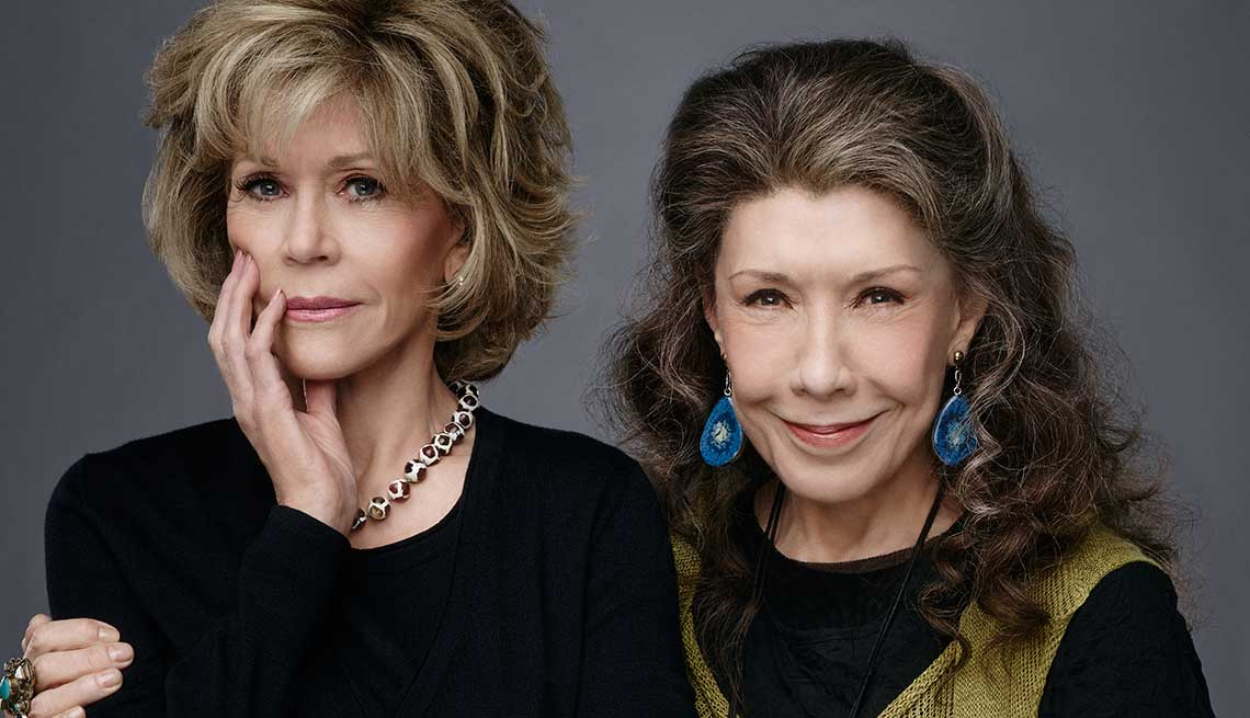 What I Know Now, Jane Fonda and Lily Tomlin, Grace and Frankie, televisiion