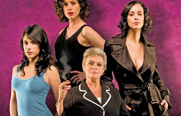 Foto promocional de la telenovela Las Aparicio, Netflix