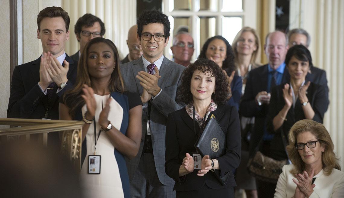 Bebe neuwirth madam secretary cheers celebrity news for Is bebe neuwirth leaving madam secretary