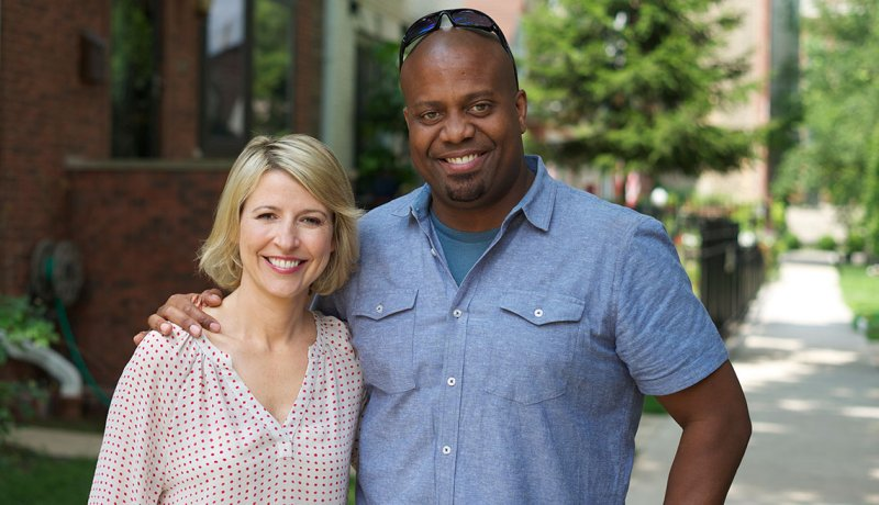 Samantha Brown and 50/50 Co-host Chris Grundy