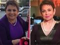 María Antonieta Collins antes y después de la cirugía de manga gástrica