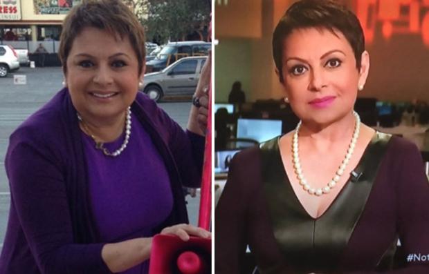 María Antonieta Collins antes y después de la cirugía de manga gástrica -  Herencia hispana