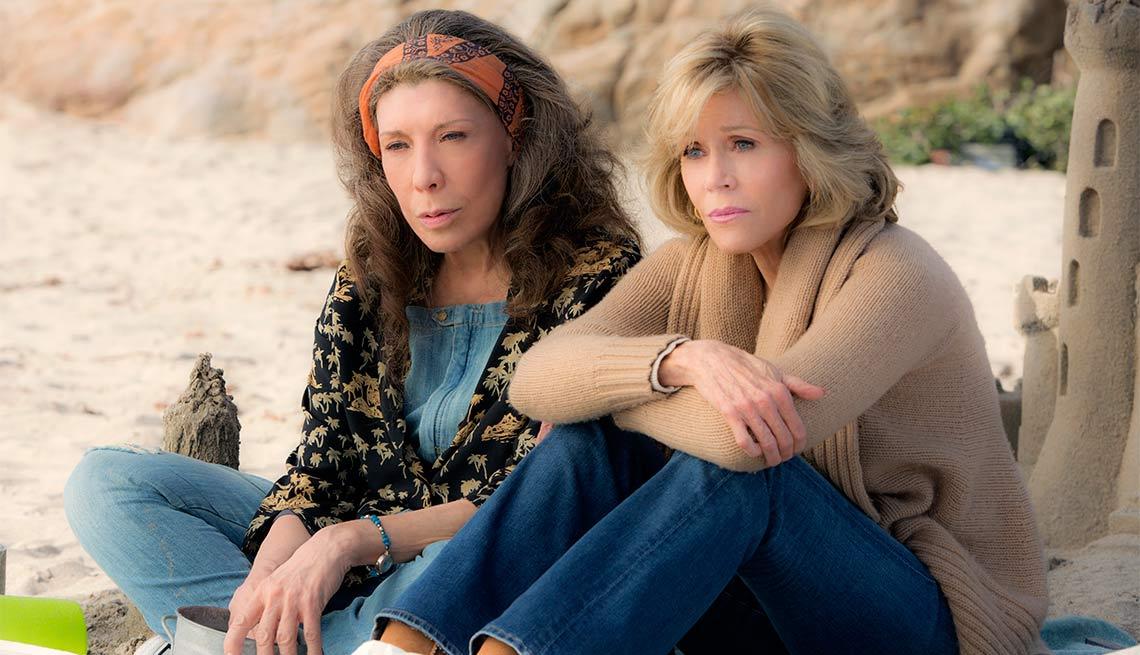 2015 Women to Watch, Lily Tomlin and Jane Fonda