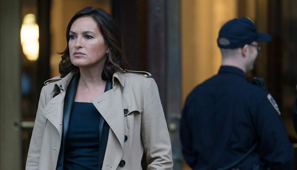 2015 Women to Watch, Mariska Hargitay, Law and Order: Special Victims Unit