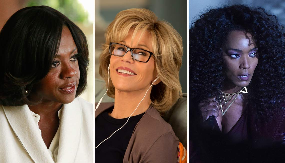 2015 Women to Watch, Viola Davis, Jane Fonda and Angela Bassett