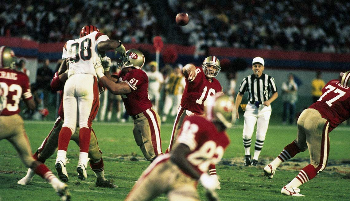 Fearless Super Bowl Plays, SUPER BOWL XXIII