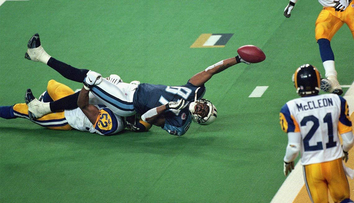 Fearless Super Bowl Plays, SUPER BOWL XXXIV