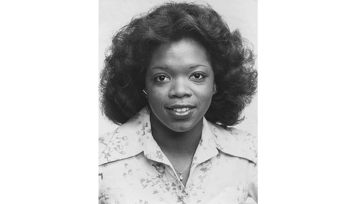 Oprah Winfrey as a co anchor of Eyewitness News on WJZ in Baltimore