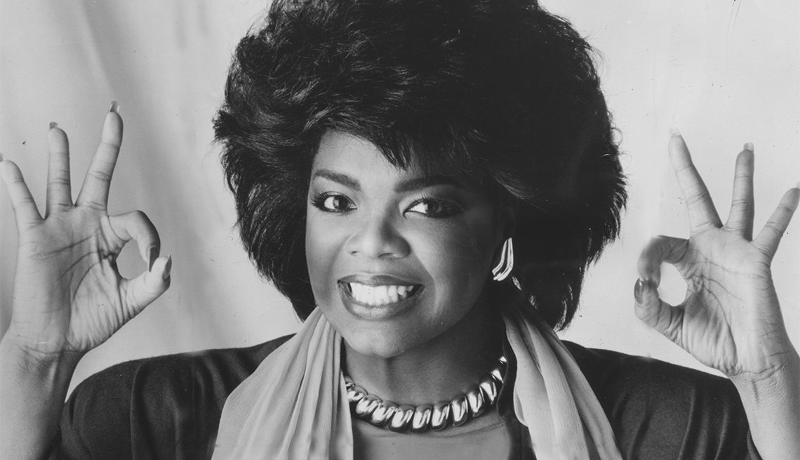 A Look Back At Oprah Winfrey Through The Years