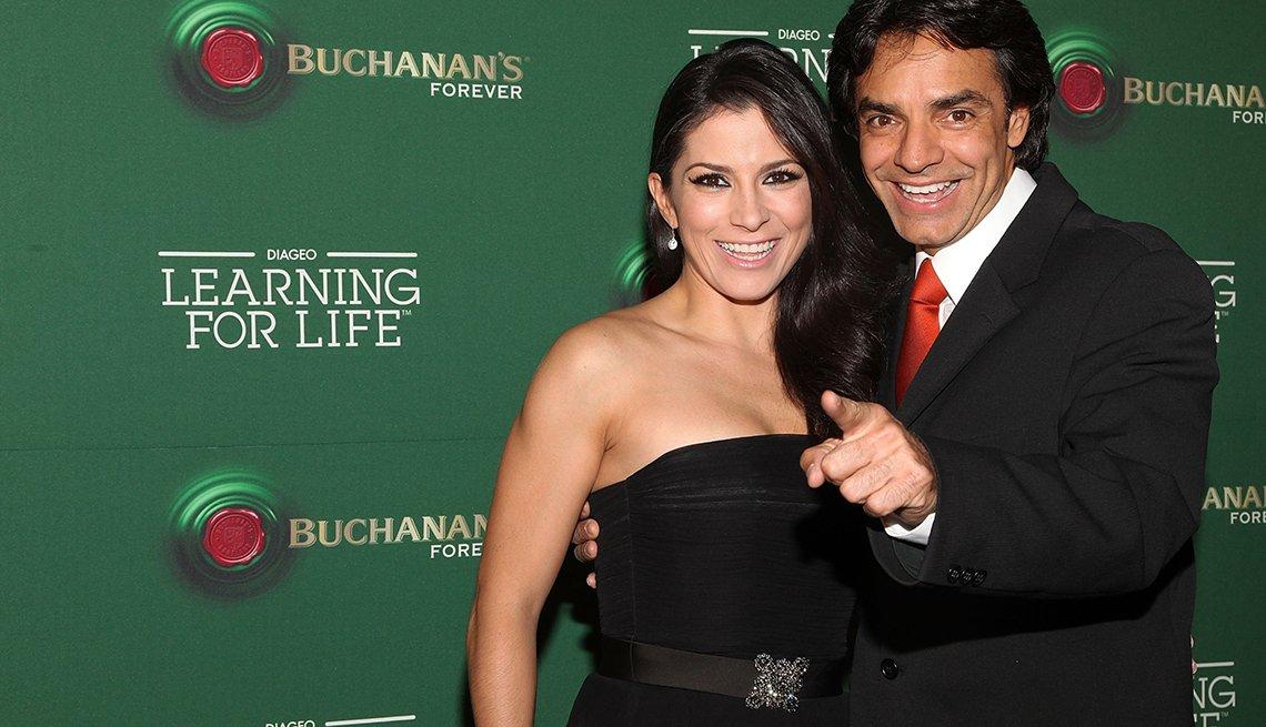 Alessandra Rosaldo y Eugenio Dérbez