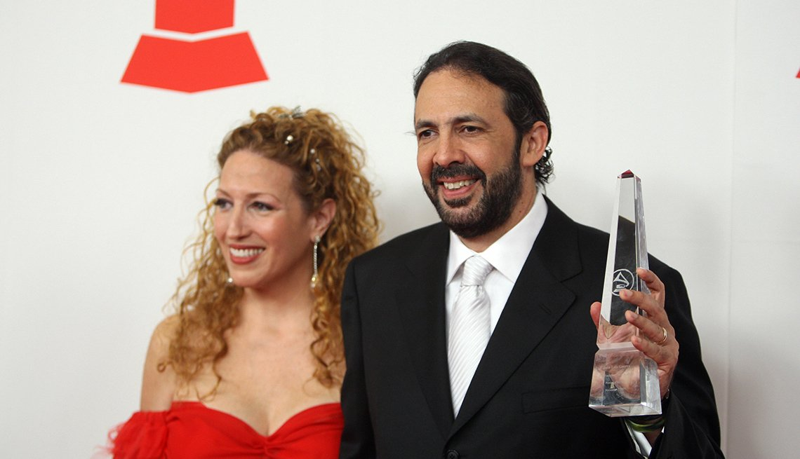 Juan Luis Guerra y Nora Vega