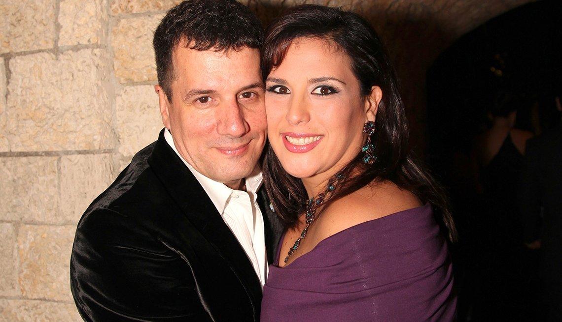 Angélica Vale y Otto Padrón - Famosas parejas latinas