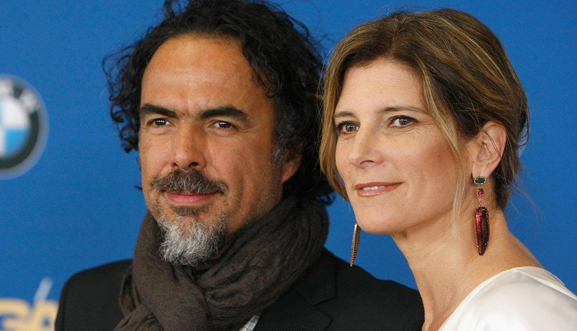 Alejandro González Iñárritu y María Eladia Hagerman