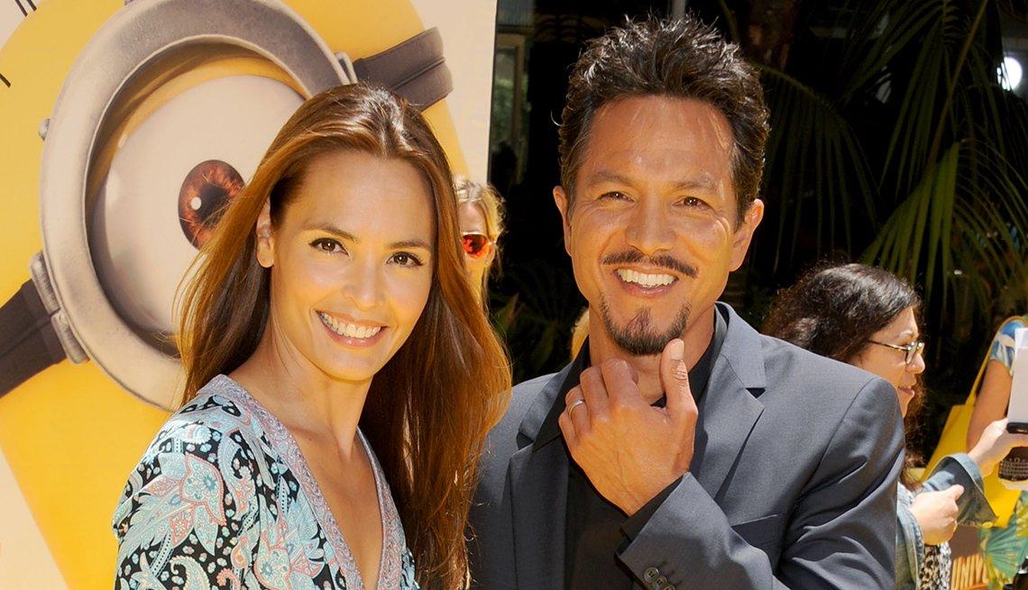 Benjamin Bratt y Talisa Soto - Famosas parejas latinas