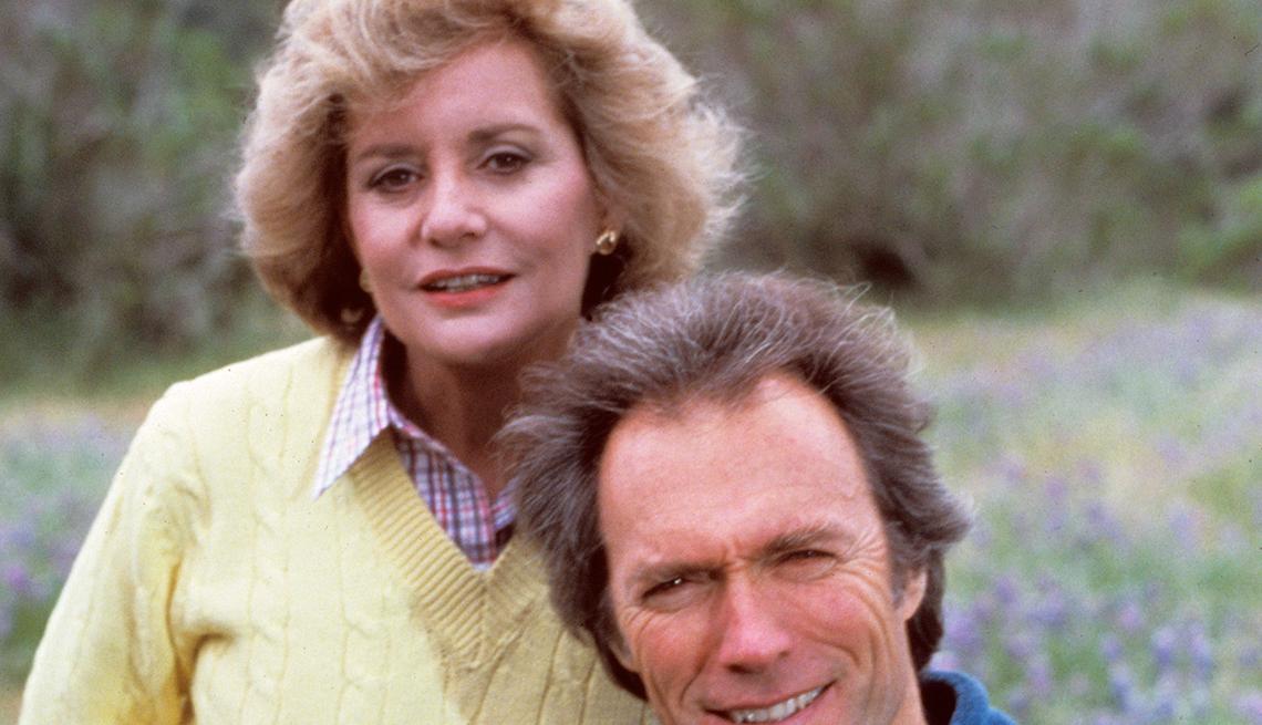 Entrevistas famosas de Barbara Walters - En la foto con Clint Eastwood