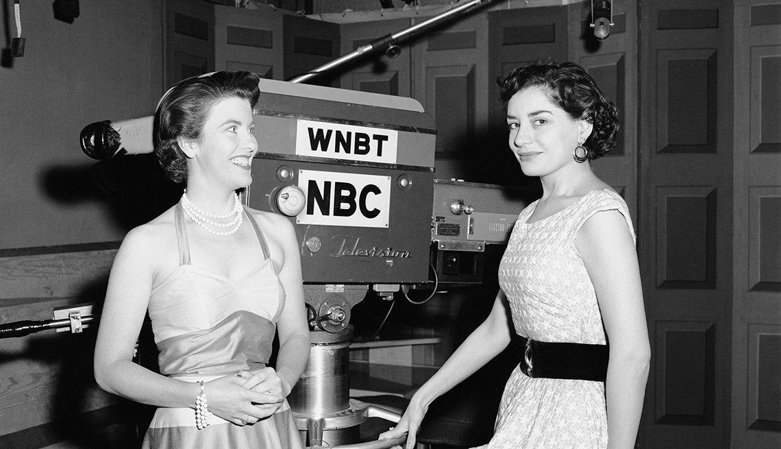 Entrevistas famosas de Barbara Walters - Cuando empezaba su carrera en 1953