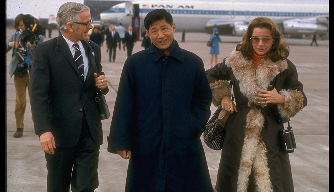 Entrevistas famosas de Barbara Walters - En  su visita a China en 1972