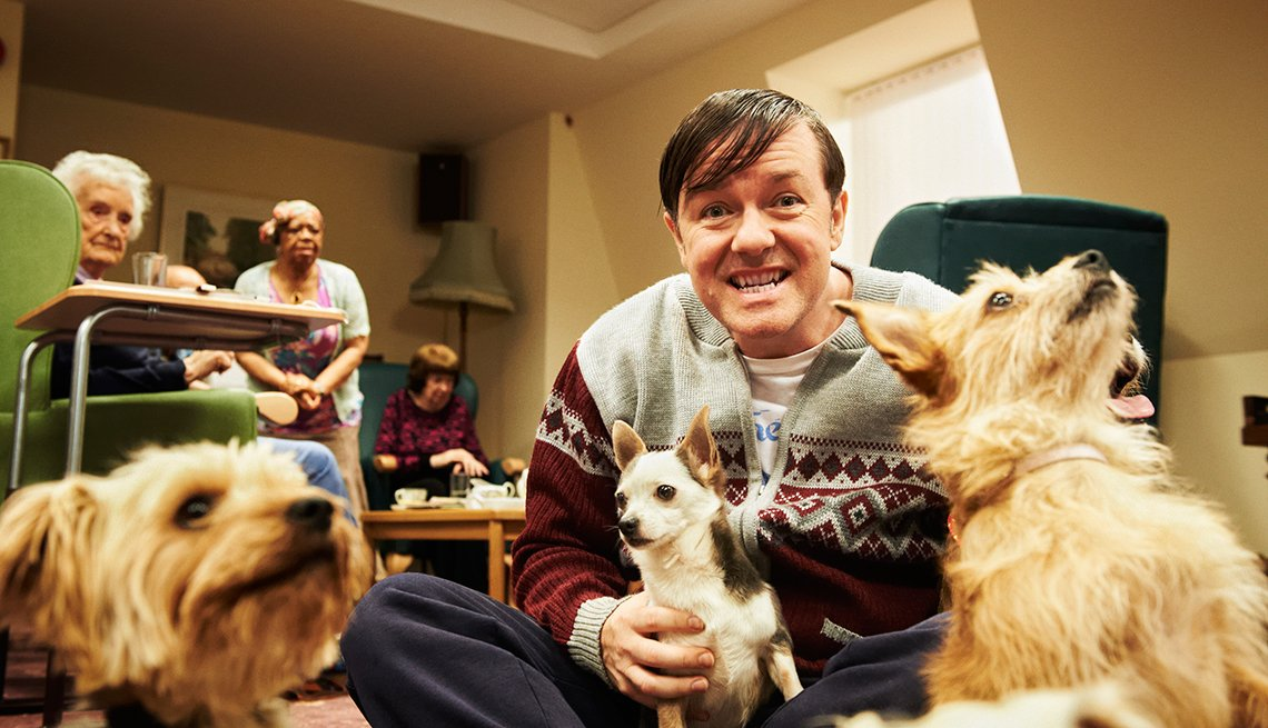 12 series de TV perfectas para mirar en maratón - 'Derek'