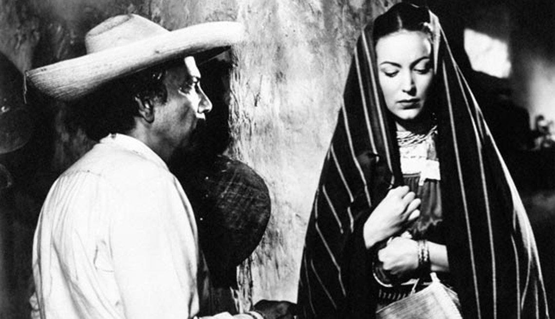 María Félix en Maclovia, 1948 - 10 películas clásicas mexica,María Félix en Maclovia