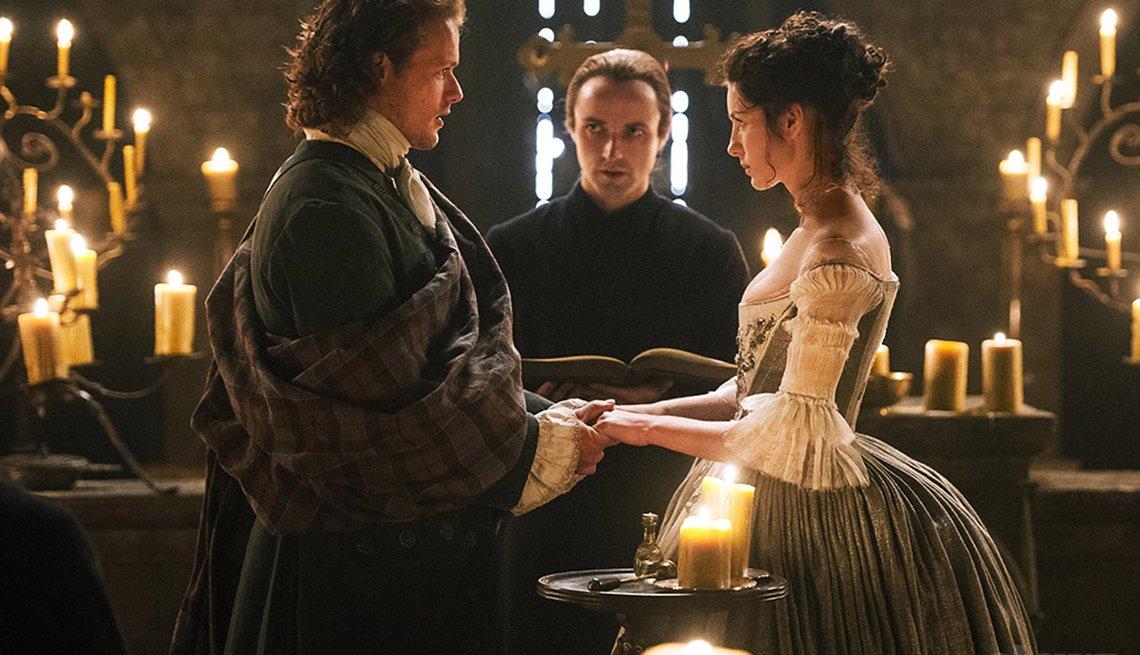 12 series de TV perfectas para mirar en maratón - 'Outlander'