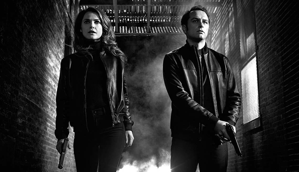 12 series de TV perfectas para mirar en maratón - 'The Americans'