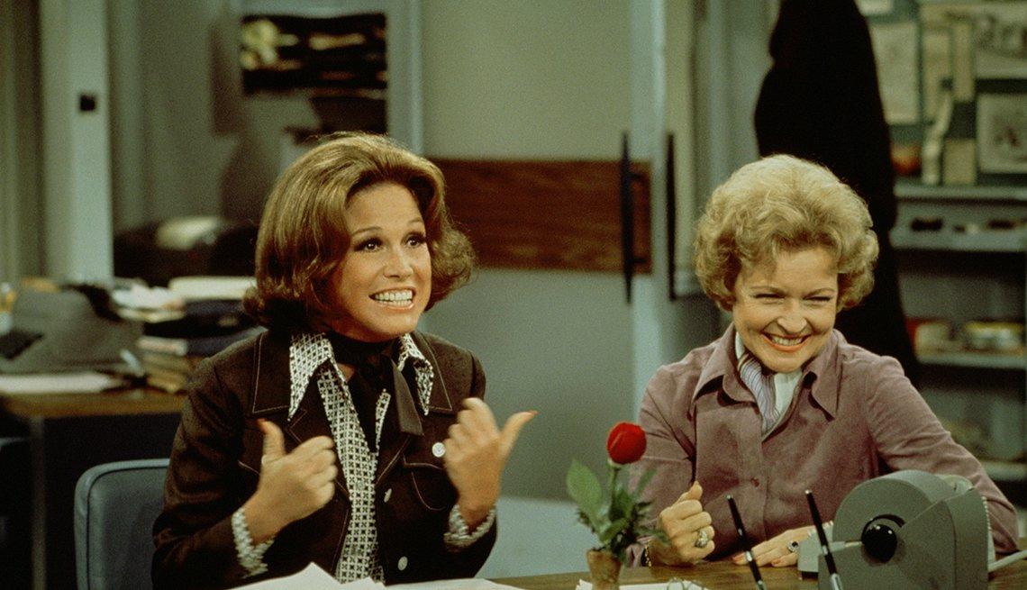 Mary Tyler Moore, 1970 - 1977 - Las mujeres que cambiaron la televisión