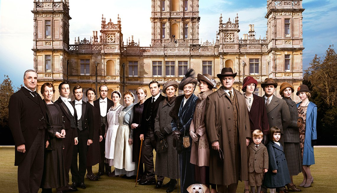 12 series de TV perfectas para mirar en maratón - 'Downton Abbey'
