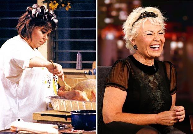 Mamás de las series de la televisión de los 80 - Roseanne Barr
