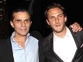 El productor y actor mexicano Humberto Zurita, al lado de su hijo, el actor Sebastián Zurita  - Herencia hispana