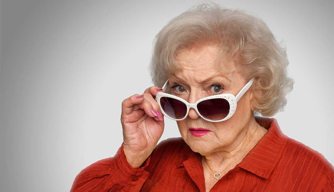 Betty White Wants You To Embrace Your Age Aarp Org