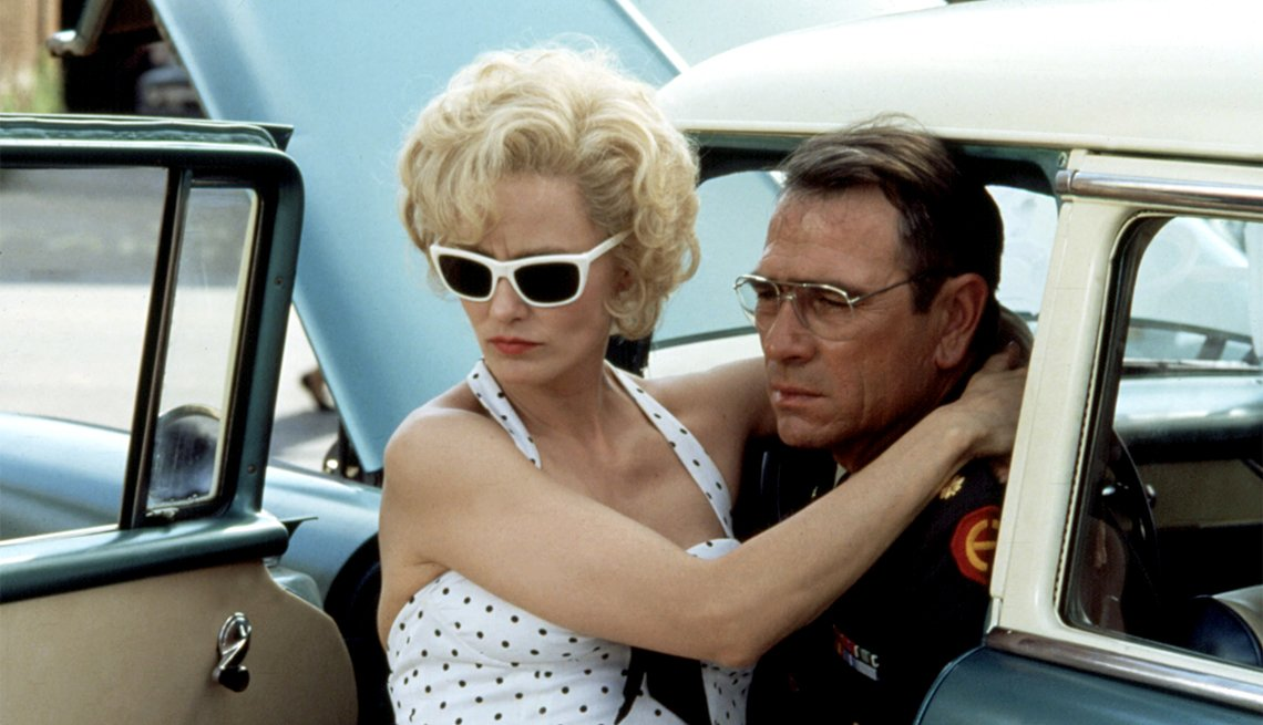 Jessica Lange and Tommy Lee Jones in 'Blue Sky'