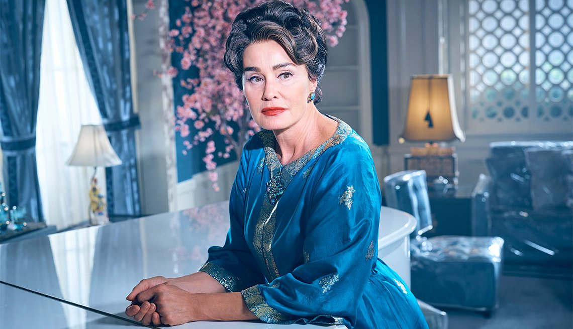 Jessica Lange as Joan Crawford in 'Feud'