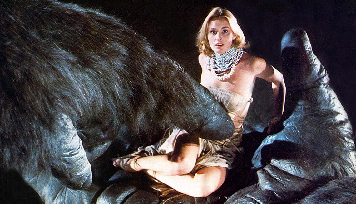 Jessica Lange in 'King Kong', 1976.