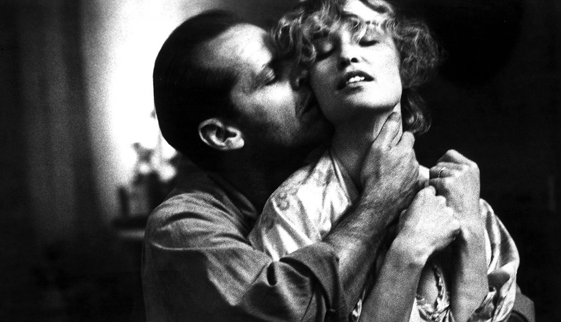 Jack Nicholson and Jessica Lange in 'The Postman Always Rings Twice'