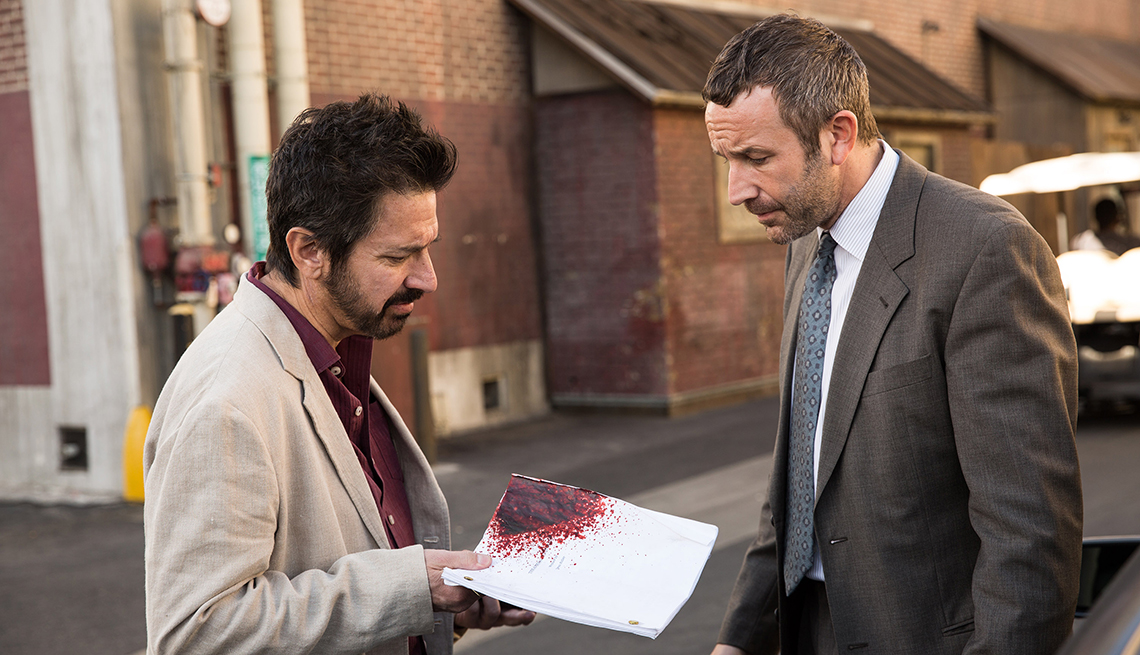 item 4 of Gallery image - Ray Ramano and Chris O'Dowd in 'Get Shorty'