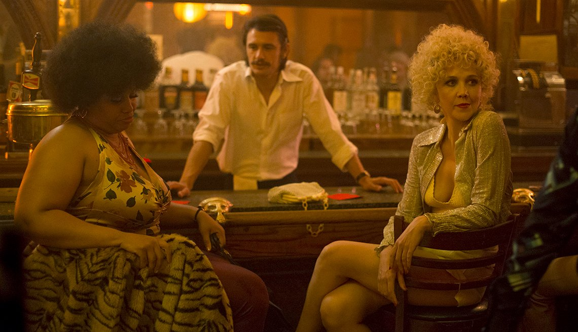 Pernell Walker, James Franco and Maggie Gyllenhaal in 'The Deuce'