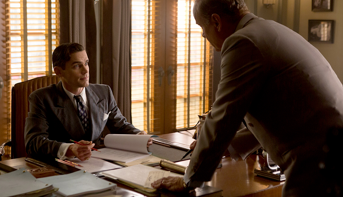 item 2 of Gallery image - Matt Bomer and Kelsey Grammer in 'The Last Tycoon'