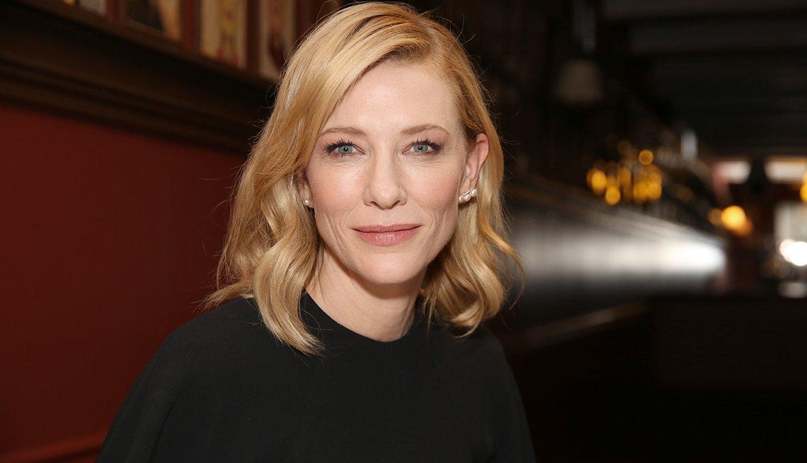 Retrato de Cate Blanchett quien interpretará a Lucille Ball en película biográfica de Amazon